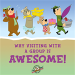 Why Visiting YOGI BEAR'S JELLYSTONE PARK™ with a Group is Awesome!
