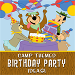 Camping-Themed Birthday Party Ideas