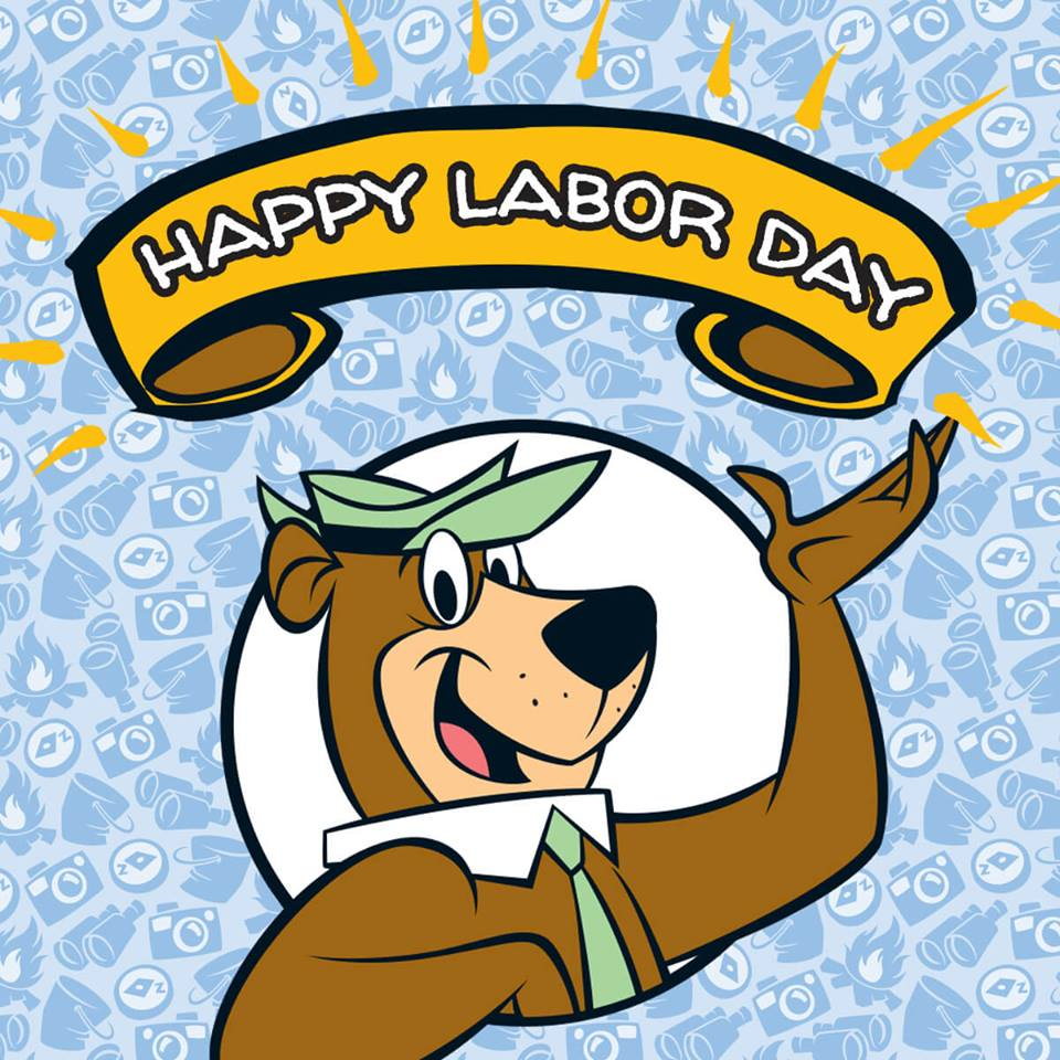 Happy Labor Day from Yogi Bear's Jellystone Park