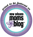 Read about us on New Orleans Mom's Blog